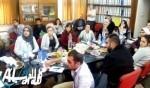 طلاب من جامعة حيفا بزيارة لمجلس مجد الكروم