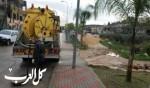 بلدية شفاعمرو: نجحنا في مواجهة المنخفض الجوي
