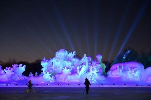 تجربة خيالية في مدينة الجليد والثلج