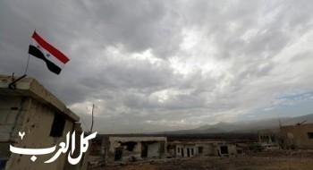الجيش السوري يعلن اصابة طائرة اسرائيلية