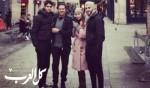 راغب علامة برفقة عائلته في باريس