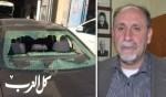 الاعتداء على سيارة د.سليمان عضو بلدية الناصرة