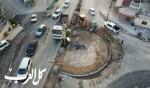 مجلس كفرمندا يباشر العمل على بناء دوار جديد