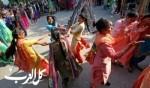 مهرجان لوهري شمالي الهند..صور