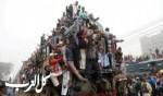 بنغلاديش: رحلة الموت فوق قطار!