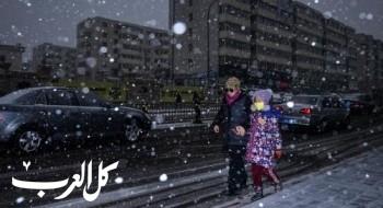 عاصفة ثلجية في جيلين الصينية