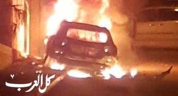 احتراق سيارة في يافا دون اصابات