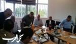 وزير الزراعة أرييل يزور الشبلي أم الغنم