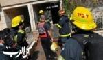 اندلاع حريق داخل محل تجاري في بلدة عيلبون