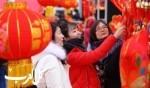 احتفال عيد الربيع الصيني في تشونجي