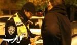 القدس: مشتبه قاد سيارته وهو ثمل