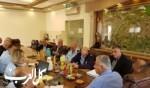 جلسة عمل بين مجلس طلعة عارة والشرطة