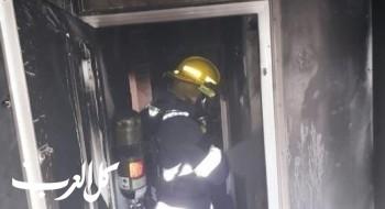 حريق بمنزل في بلدة المغار بعد نسيان