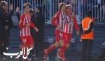 أتلتيكو مدريد يحقق فوزاً صعباً على ملقا