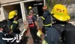 اندلاع حريق داخل منزل في مدينة شفاعمرو