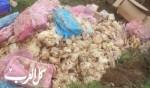 بقعاثا: العثور على 3 أطنان من اللحوم والدواجن الفاسدة