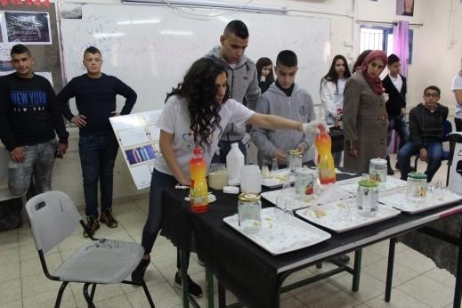 يوم العلوم والتجارب العلمية في إعدادية عين ماهل