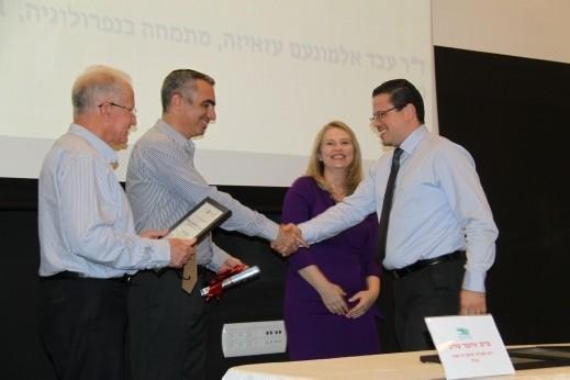 مستشفى الناصرة- الانجليزي  يحصد منح تميّز للأبحاث