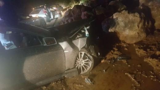 إصابتان في حادث بين دير الأسد ويركا