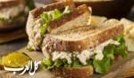 ساندويش التونا بالمايونيز..صحتين وهنا