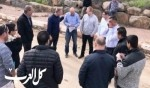 جولة لإدارة المجلس في قرى الجلبوع