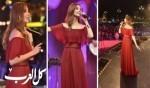 نانسي عجرم تحيي أقوى حفلات دبي بإطلالة ساحرة