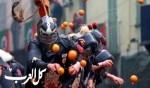 كرنفال معركة البرتقال في إيفريا الإيطالية