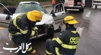 إصابتان في حادث طرق قرب مفرق الموفيل