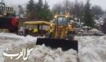 بسبب الطقس: إغلاق جبل الشيخ وتشويشات بحركة السير