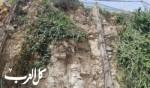 بلدية الناصرة بحملة تنظيف قرب محطة سونول