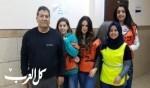 مدرسة العلوم في الناصرة تشارك بتمرين الطوارئ القطري