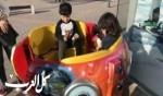 جمعية اختر السعادة - الناصرة توزع الحلوى على الاطفال