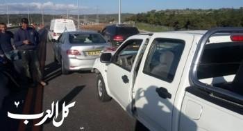 اصابة شخصين اثر حادث سير قرب شفاعمرو