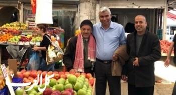 جولة ميدانية للنائب الخرومي في مدينة الرملة