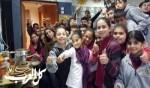 مدرسة الحرش النصراوية في حملة صحية