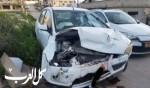خمس إصابات بحادث طرق بحي الصندحاوي في كفرقرع