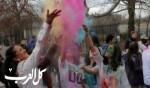 الألوان تزيّن وجوه الناس في نيويورك