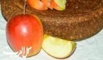 كعكة القمح الصحية بالتفاح.. جرّبوها