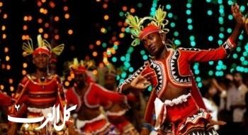 مهرجان الرقص التقليدي بسريلانكا