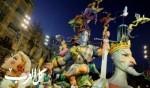 أجواء مهرجان فالاس الاسباني في فالنسيا