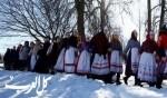 بيلاروسيا تستقبل الربيع بين الثلوج