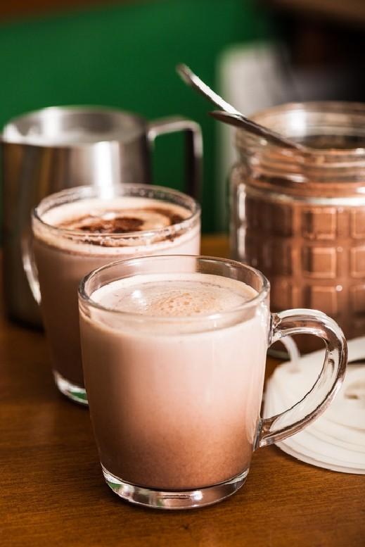 مشروبات طازجه 2018 زنزون_مشروب الشوكولاتة
