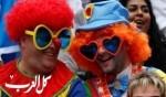 طرافة المشجعين في بطولة كأس الرُغبي
