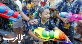 أجواء ممتعة بمهرجان المياه في تايلاند..صور