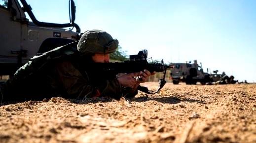 الجيش الاسرائيلي يبدأ تمريناته في هضبة الجولان