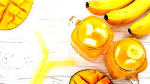 عصير الموز والمانجا الصحي..جربيه!
