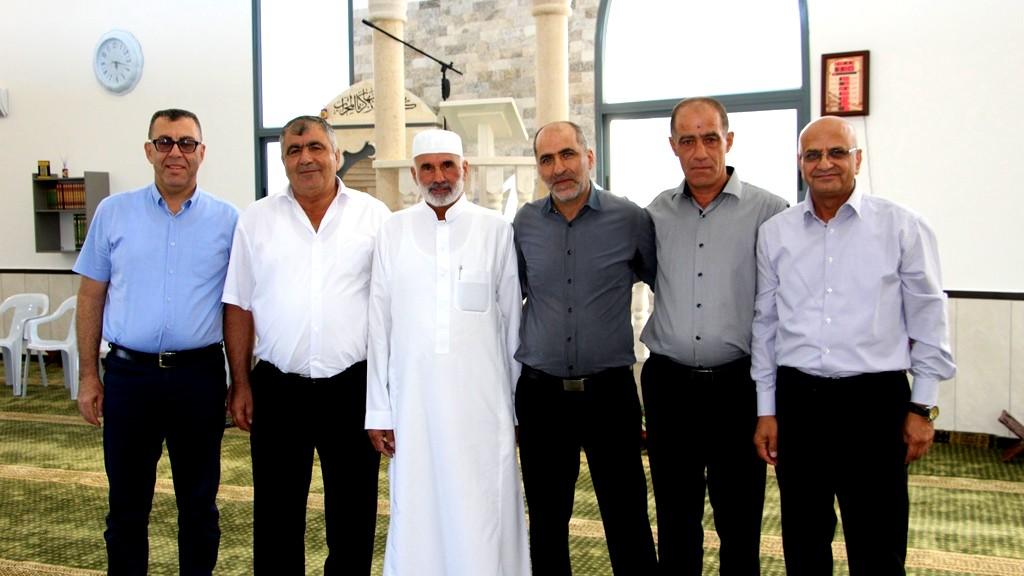 الاحتفال بافتتاح مسجد ابو بكر الصديق في البعينة