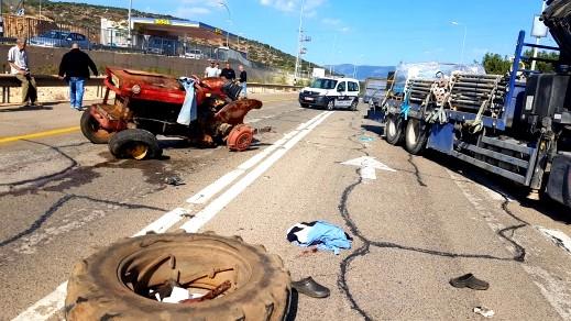 إصابة رجل (65 عامًا) بحادث طرق قرب عيلبون