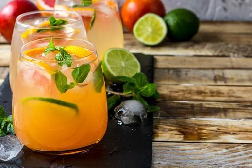 مشروبات طازجه 2019 زنزون_كوكتيل الحمضيَّات