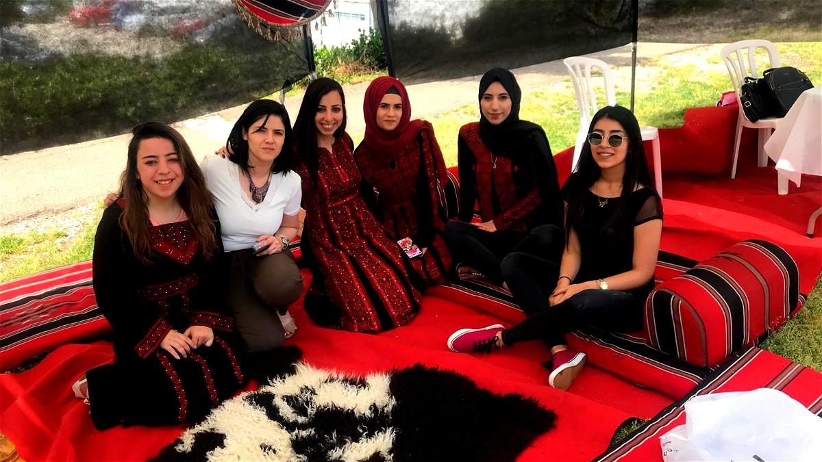 الطلاب العرب في كليّة أُورانيم ينظّمون يوم تراث
